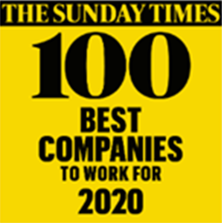 Sunday Times 100 Best Companies 2020